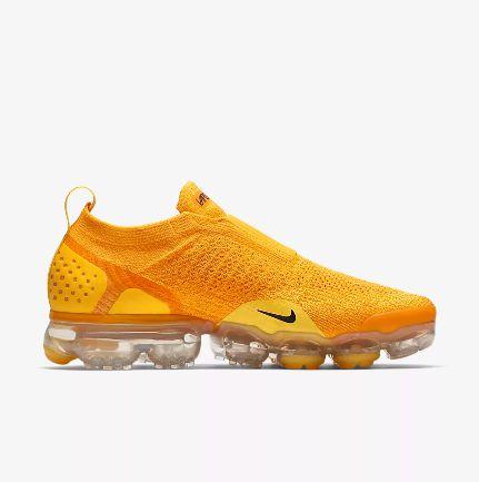 fc39a5c1785 ... Tênis Nike Air VaporMax Flyknit MOC 2 - Feminino - Amarelo - Imagem 2  ...