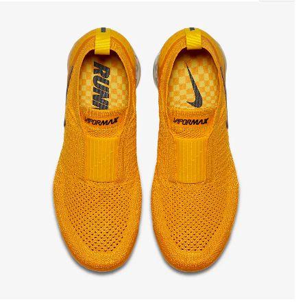 38c5232b727 ... Tênis Nike Air VaporMax Flyknit MOC 2 - Feminino - Amarelo - Imagem 5