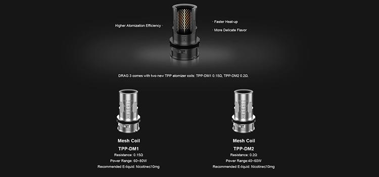 drag 3 coil tpp