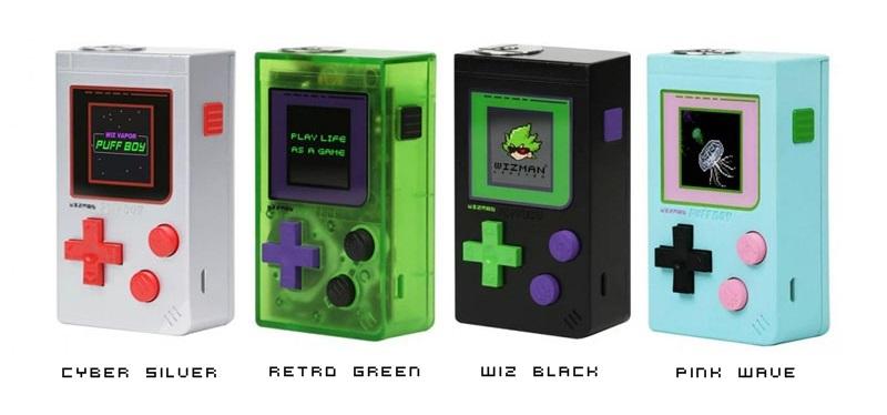Resultado de imagem para Puff Boy 200W Mod - Wizman retro green