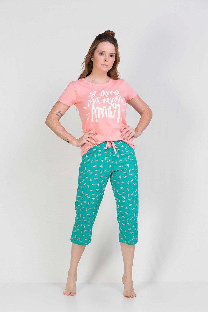 d39400edd8090a PIJAMA CAPRI DENISE - Chic Sleep Pijamas