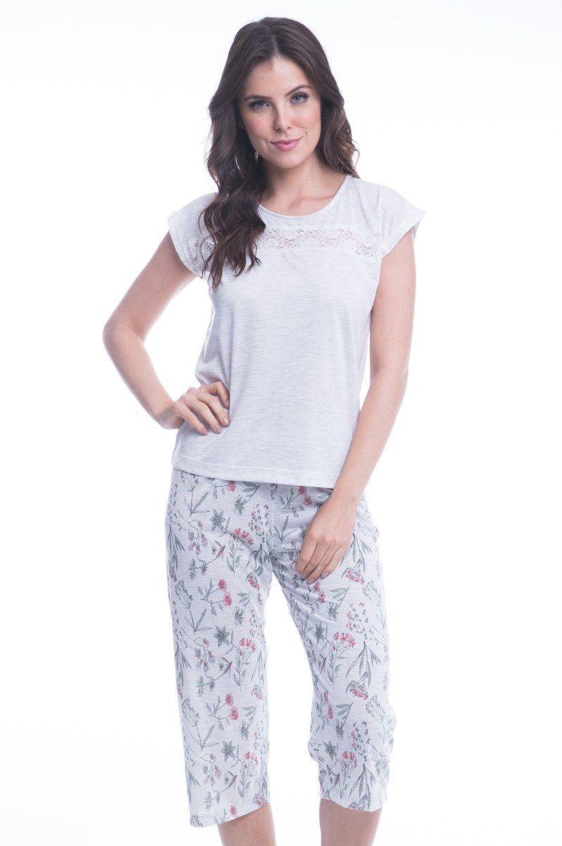 9f88706b3d3541 PIJAMA CAPRI ELIANE - Chic Sleep Pijamas