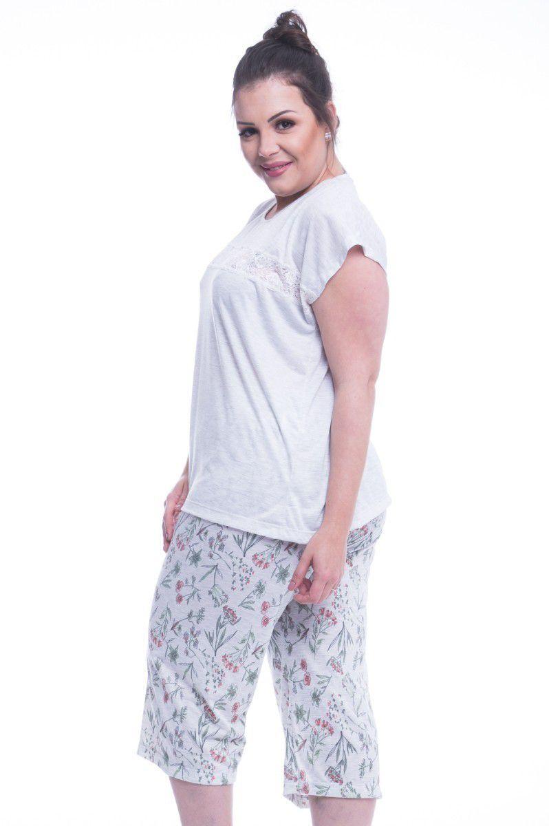 3acdb691116361 PIJAMA CAPRI GISELA - Plus Size - Chic Sleep Pijamas