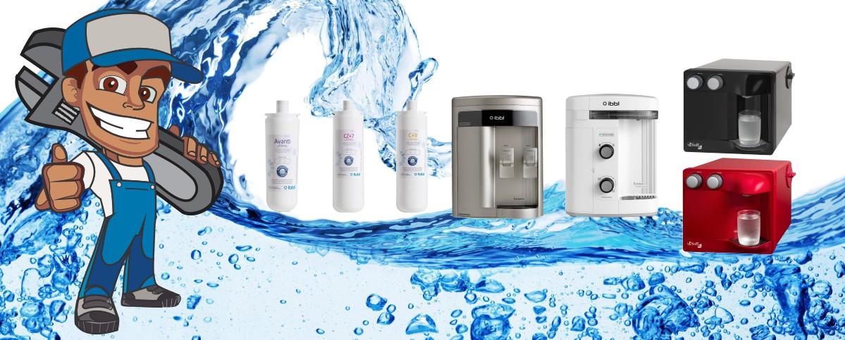 Conserto de Filtro de Água em Salvador