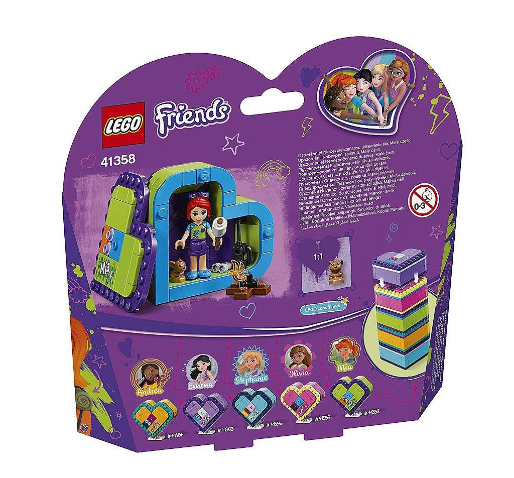 Blocos de Montar Lego Friends A Caixa Coracao da Emma 41355
