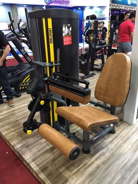 Flexora Sentado (100 KG) c/ Rapid Fire - CS Fitness
