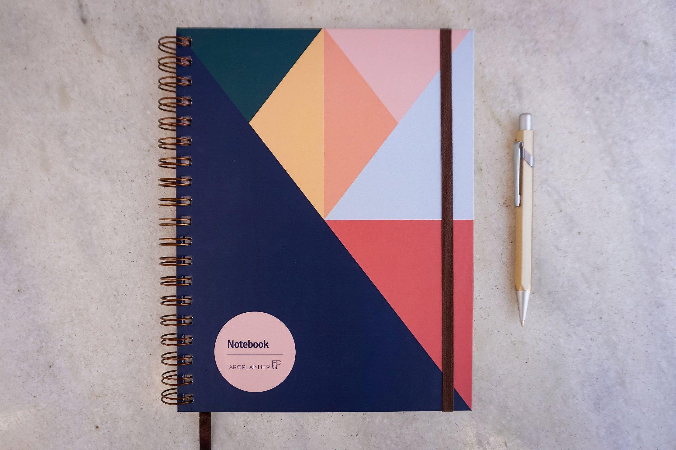 Notebook Elementos: Capa Cores