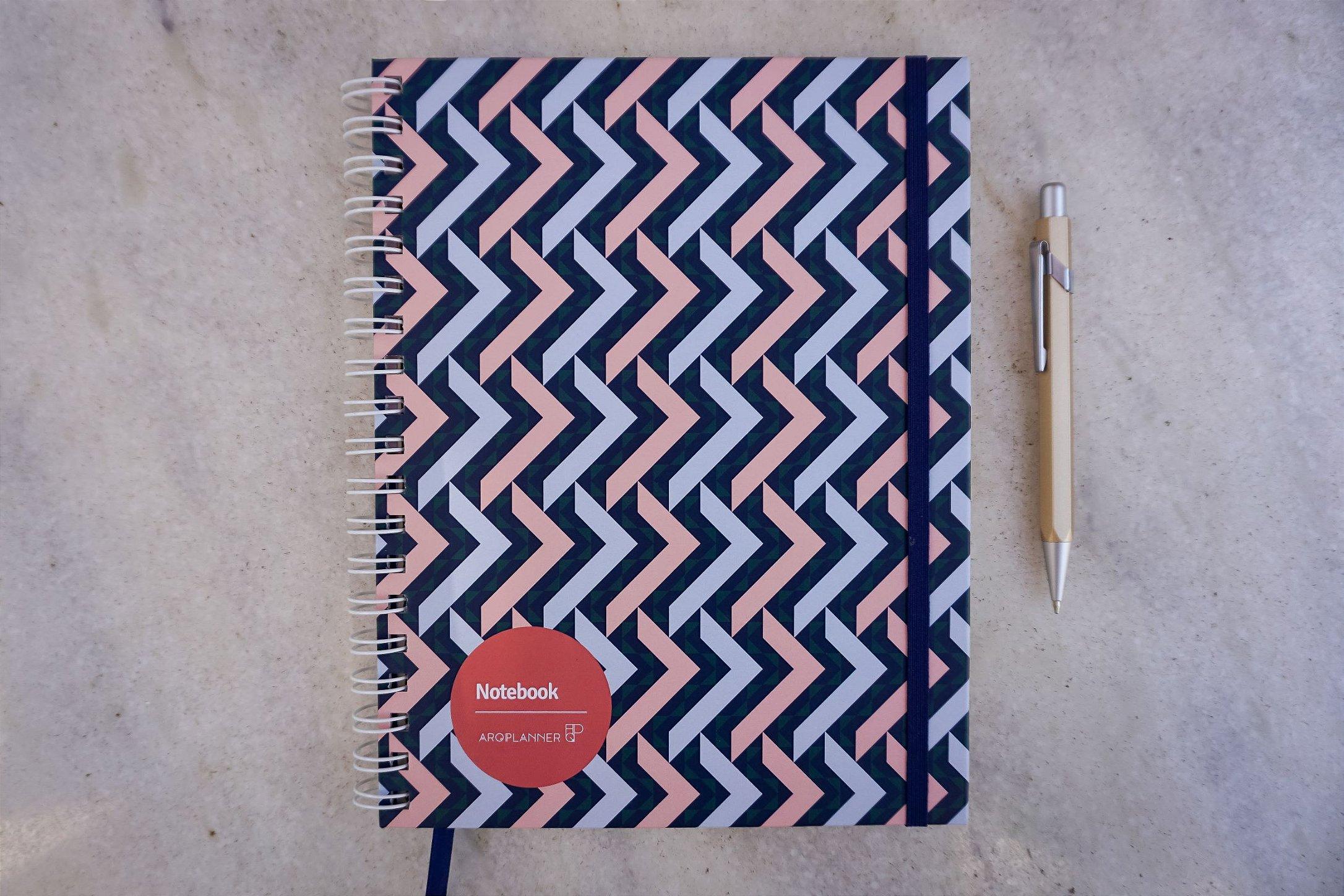 Notebook Elementos: Capa Formas
