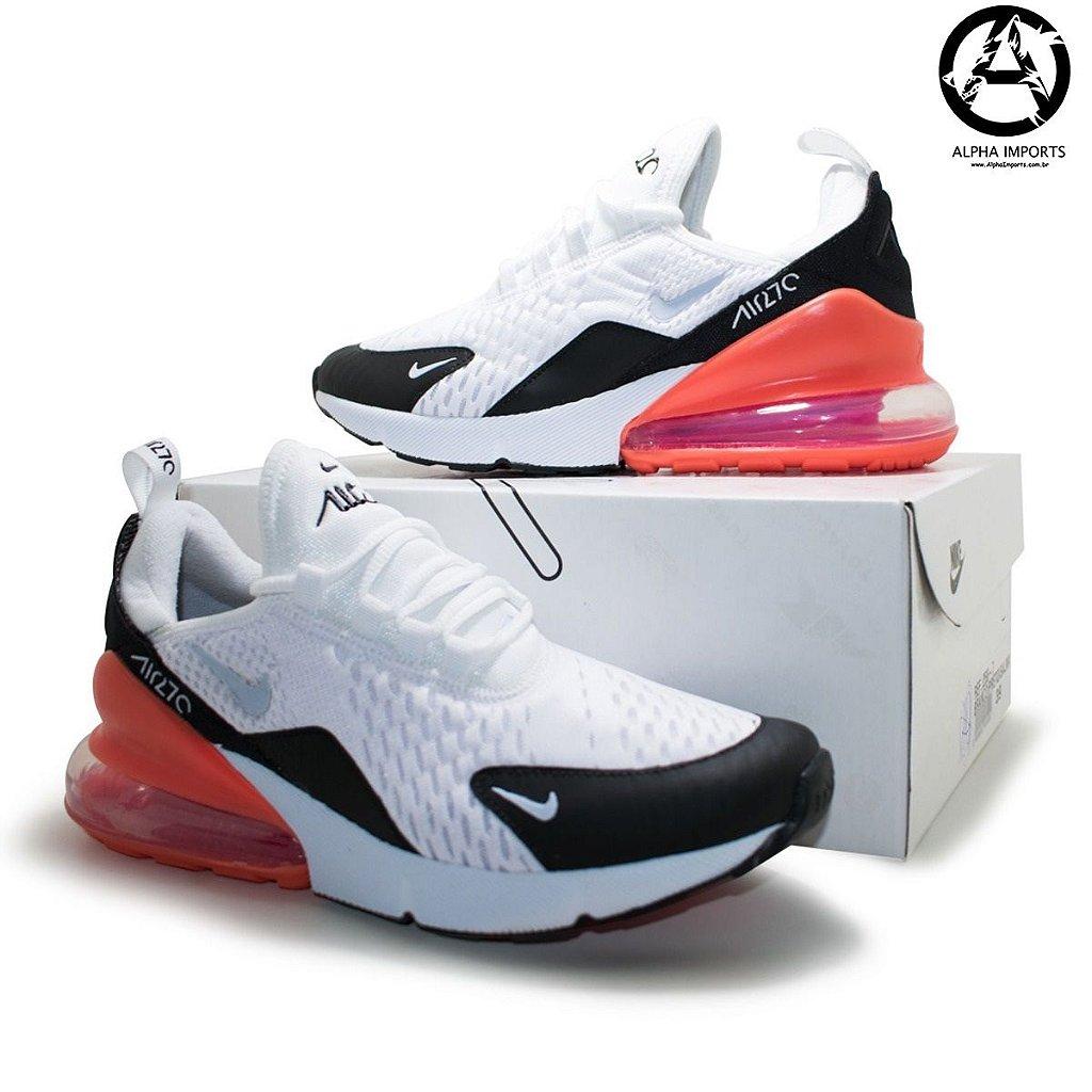 834f2996051 ... Tênis Nike Air Max 270 Masculino - Preto e Laranja - Imagem 3 ...