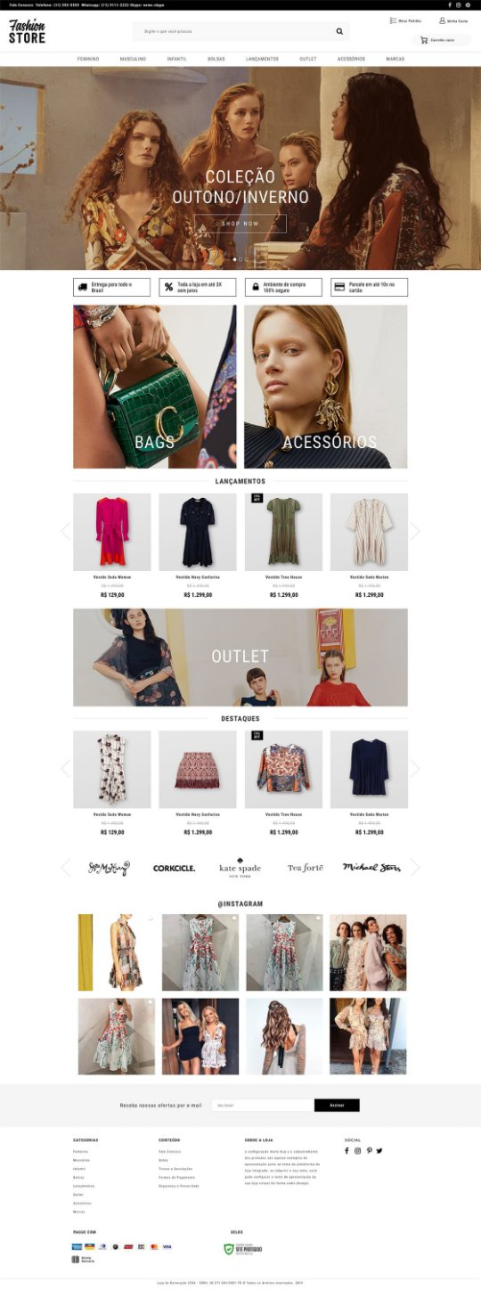 Fashion Store Tema My Eshop Loja Virtual