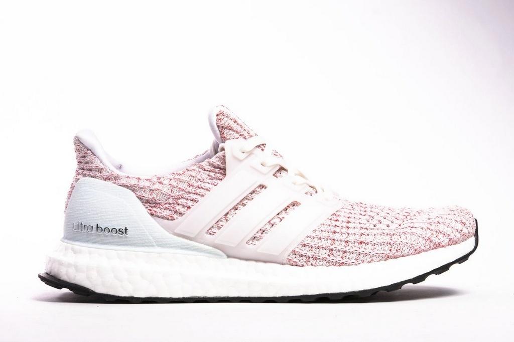 Tênis Adidas Ultraboost 4.0 Feminino Rosa e Branco Sua