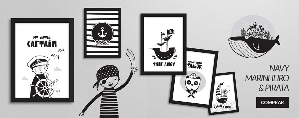 Decor Quadros loja de quadros navy e marinheiro