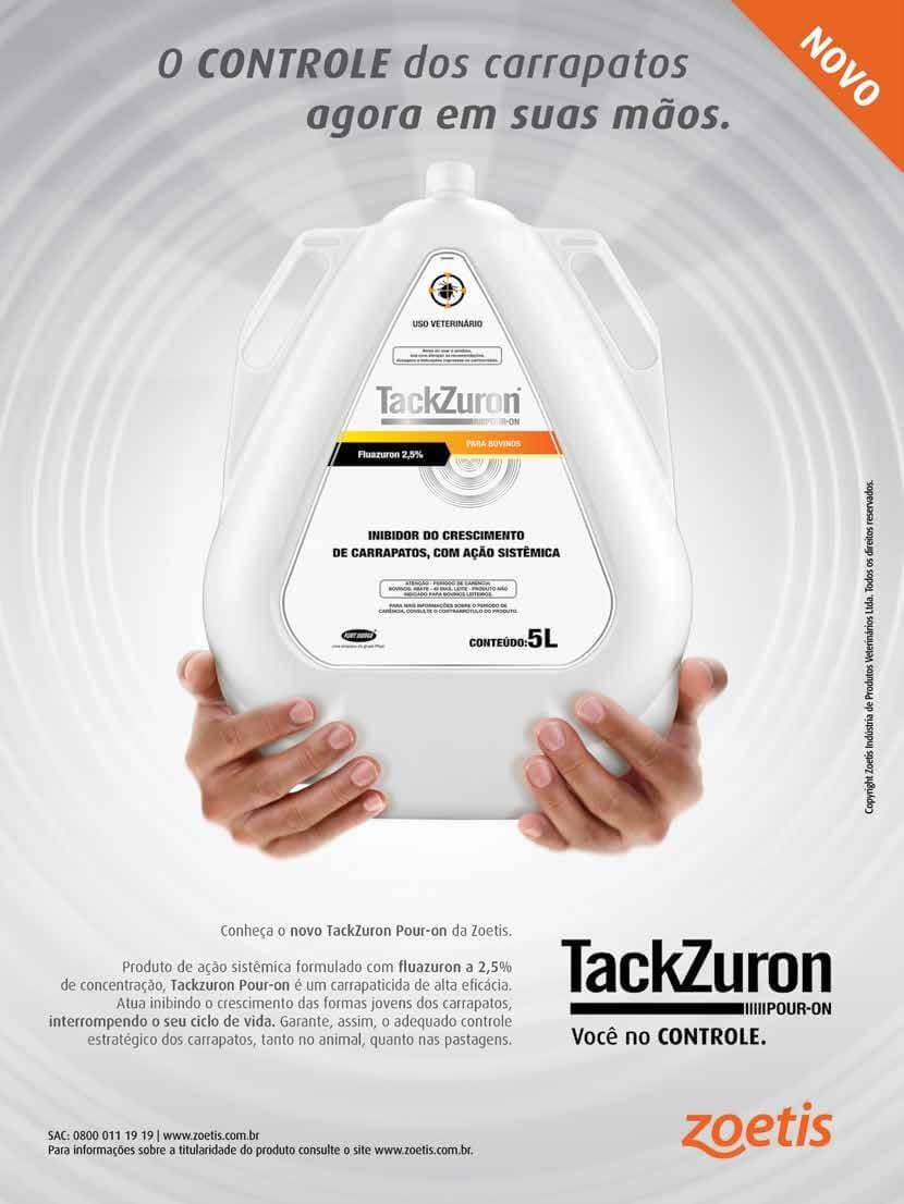 Controle do carrapato é com Tackzuron