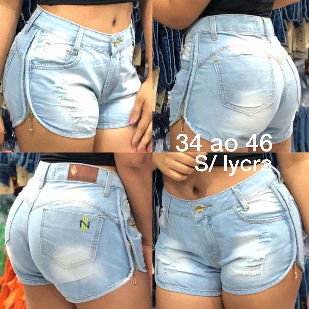7a77df8549 Nillo´s Shorts Jeans Deluxe com Zipper R 30 Unid. MÍNIMO DE 10 ...